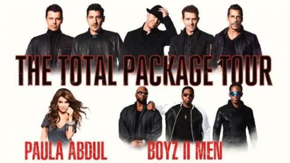 New Kids On The Block, Paula Abdul & Boyz II Men at Frank Erwin Center