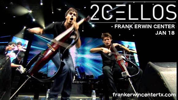2Cellos at Frank Erwin Center