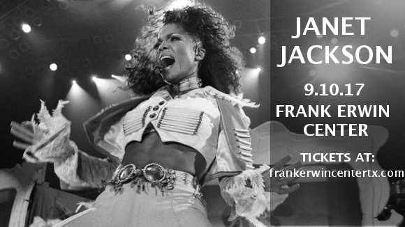 Janet Jackson at Frank Erwin Center