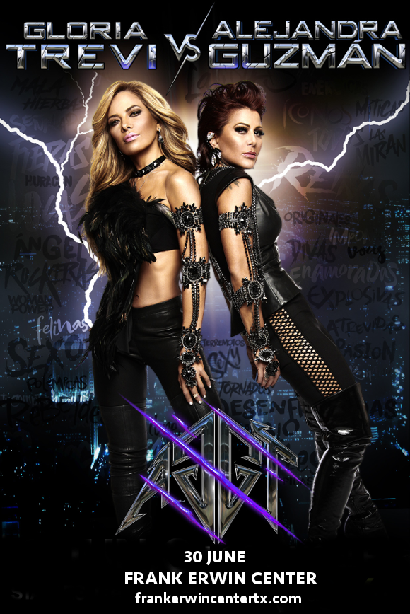 Gloria Trevi & Alejandra Guzman at Frank Erwin Center