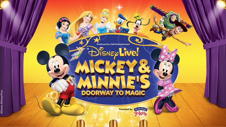 Disney Live! Mickey & Minnie's Doorway to Magic at Frank Erwin Center