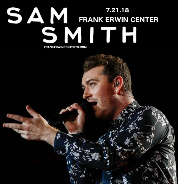 Sam Smith at Frank Erwin Center
