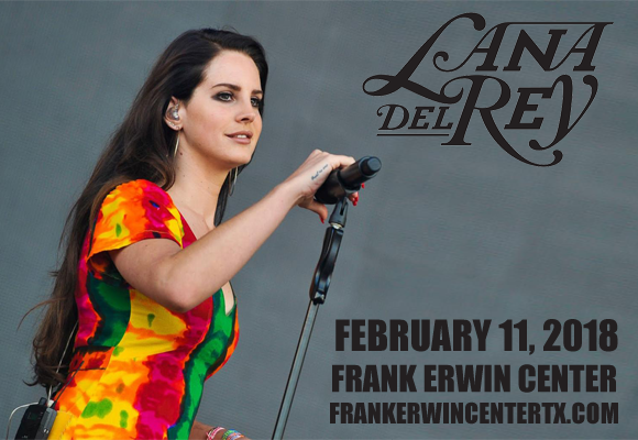 Lana Del Rey at Frank Erwin Center