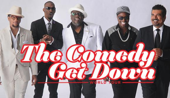 The Comedy Get Down Tour: Cedric The Entertainer, Eddie Griffin, D.L. Hughley & George Lopez at Frank Erwin Center