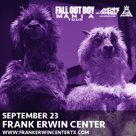 Fall Out Boy & Machine Gun Kelly at Frank Erwin Center
