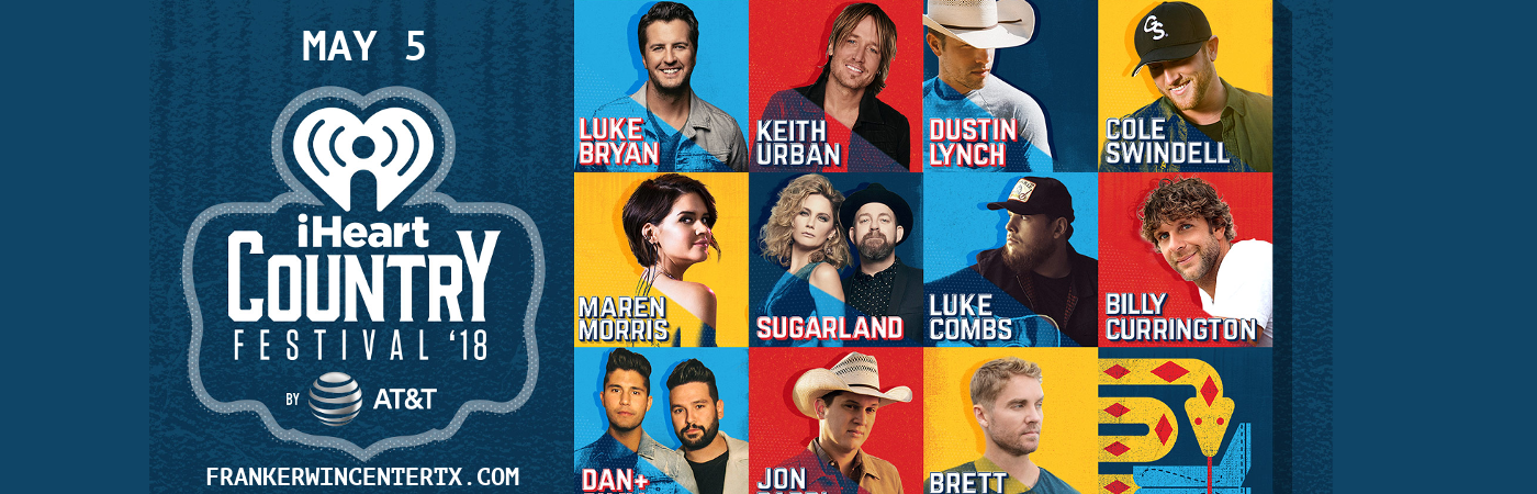 iHeart Country Music Festival at Frank Erwin Center