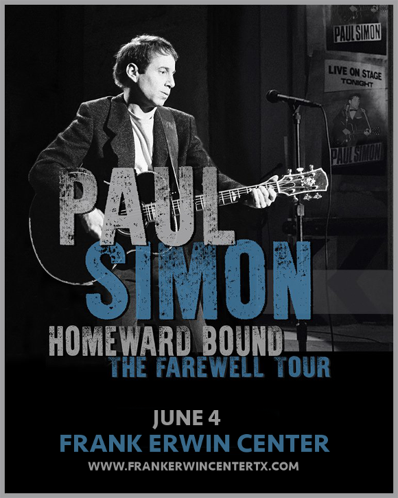 Paul Simon at Frank Erwin Center