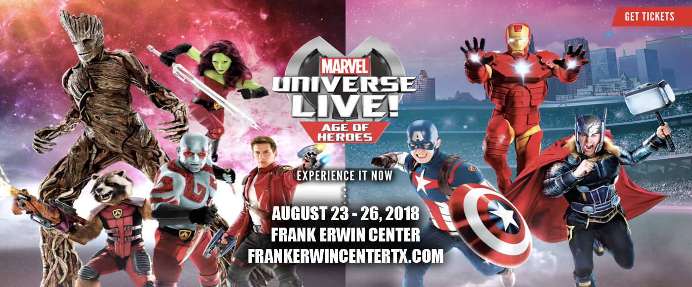 Marvel Universe Live! at Frank Erwin Center