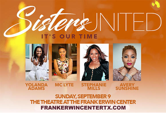 *CANCELLED* Sisters United at Frank Erwin Center