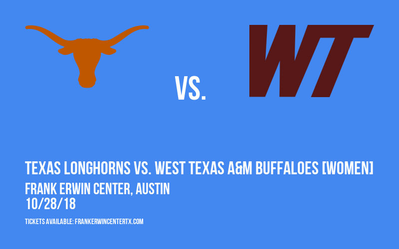 Exhibition: Texas Longhorns vs. West Texas A&M Buffaloes [WOMEN] at Frank Erwin Center
