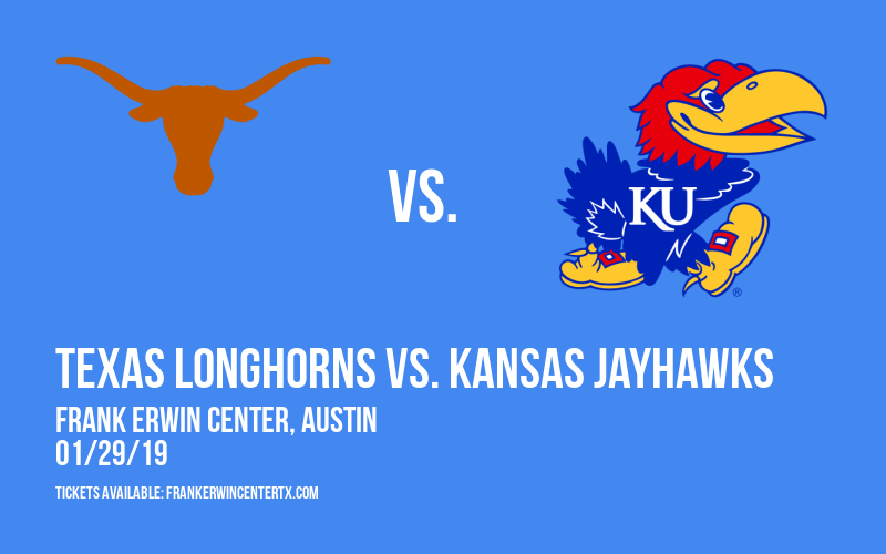 Texas Longhorns vs. Kansas Jayhawks at Frank Erwin Center