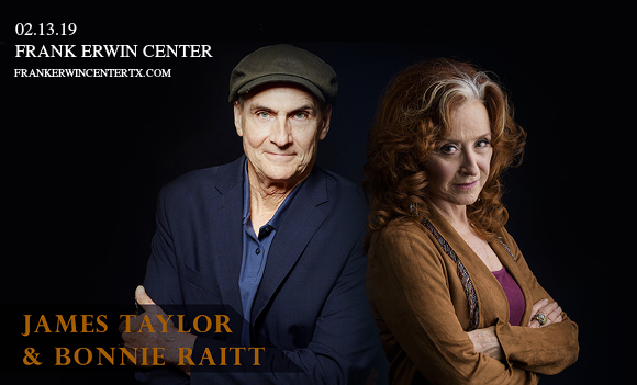 James Taylor & Bonnie Raitt at Frank Erwin Center