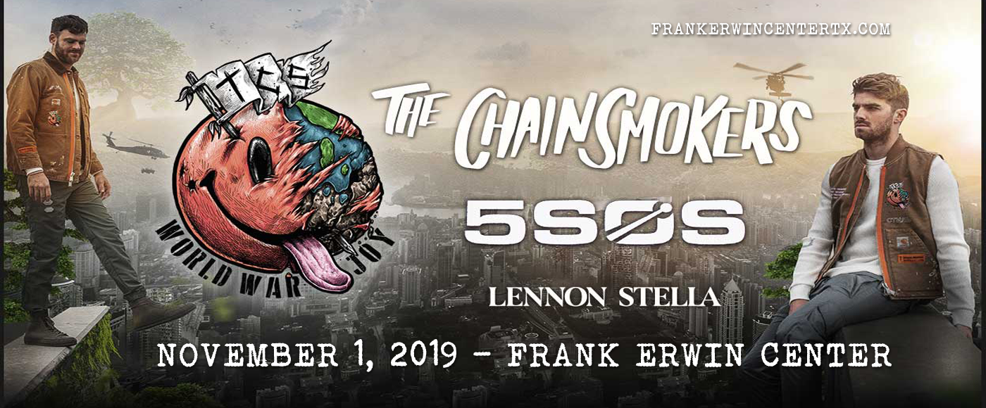 The Chainsmokers & 5 Seconds of Summer at Frank Erwin Center