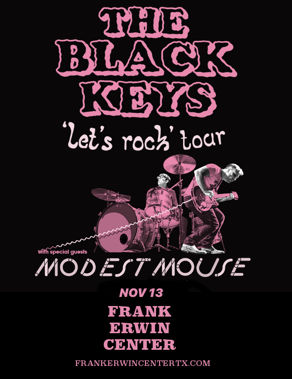 The Black Keys, Modest Mouse & Shannon and the Clams at Frank Erwin Center
