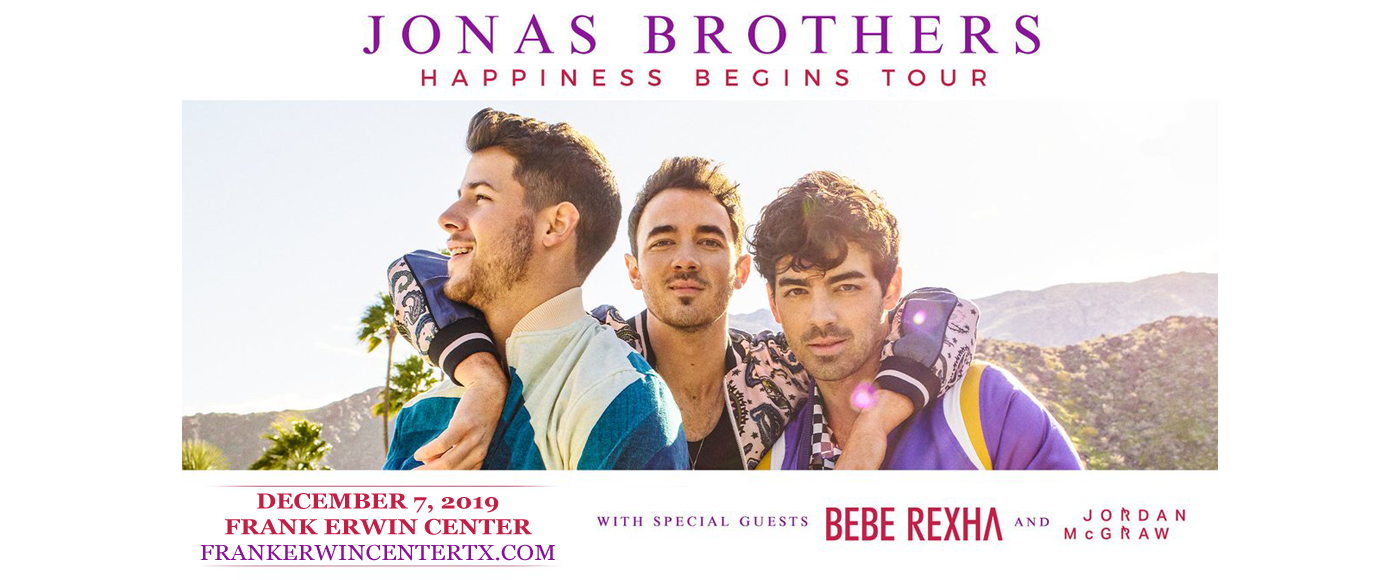 Jonas Brothers at Frank Erwin Center