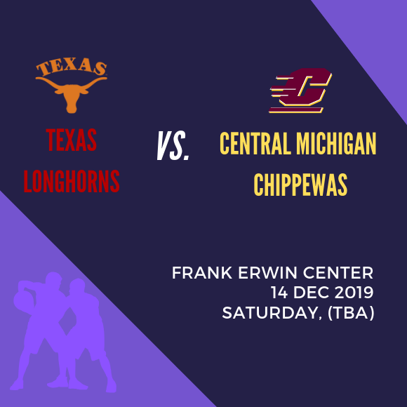 Texas Longhorns vs. Central Michigan Chippewas at Frank Erwin Center