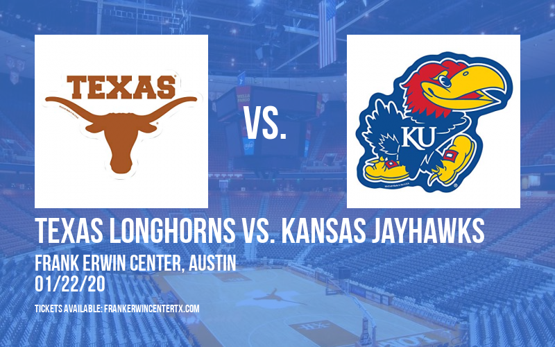 Texas Longhorns vs. Kansas Jayhawks (WOMEN) at Frank Erwin Center