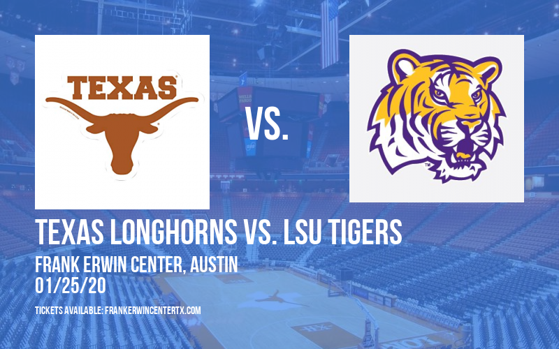 Texas Longhorns vs. LSU Tigers at Frank Erwin Center