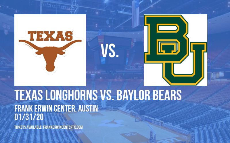 Texas Longhorns vs. Baylor Bears (WOMEN) at Frank Erwin Center