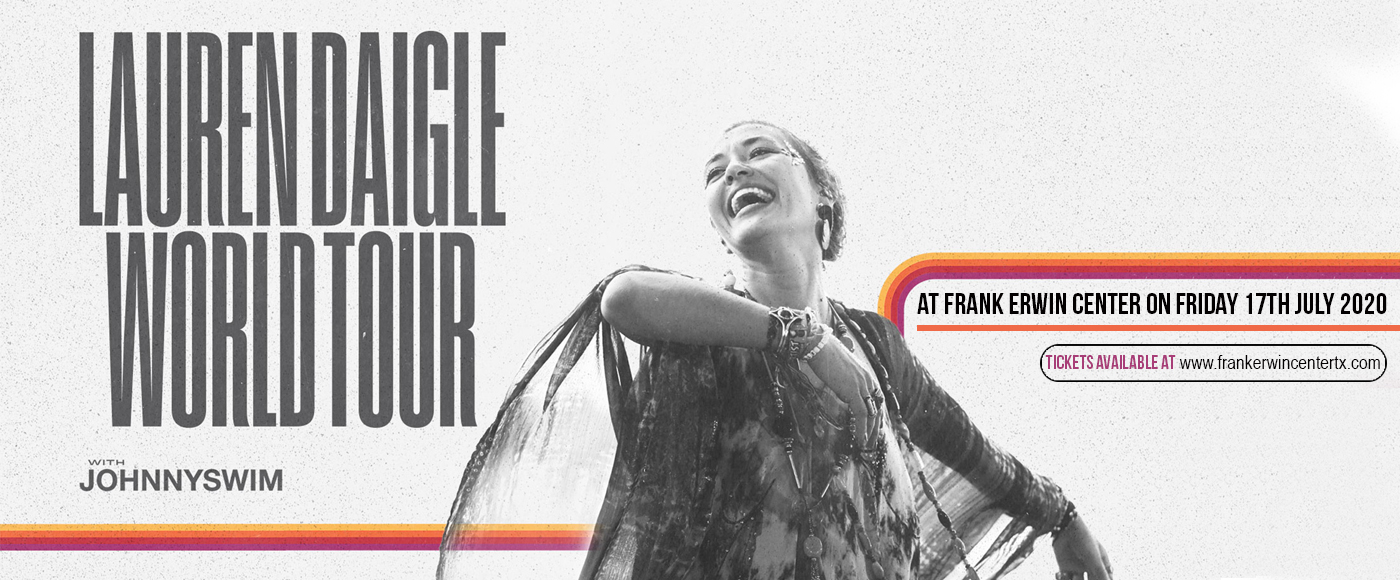Lauren Daigle & Johnnyswim at Frank Erwin Center
