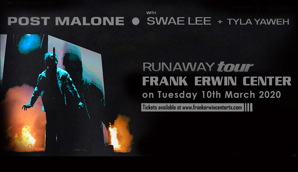 Post Malone at Frank Erwin Center