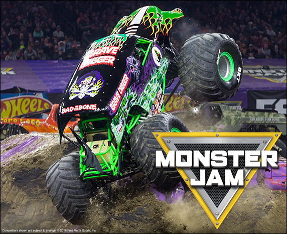 Monster Jam at Frank Erwin Center