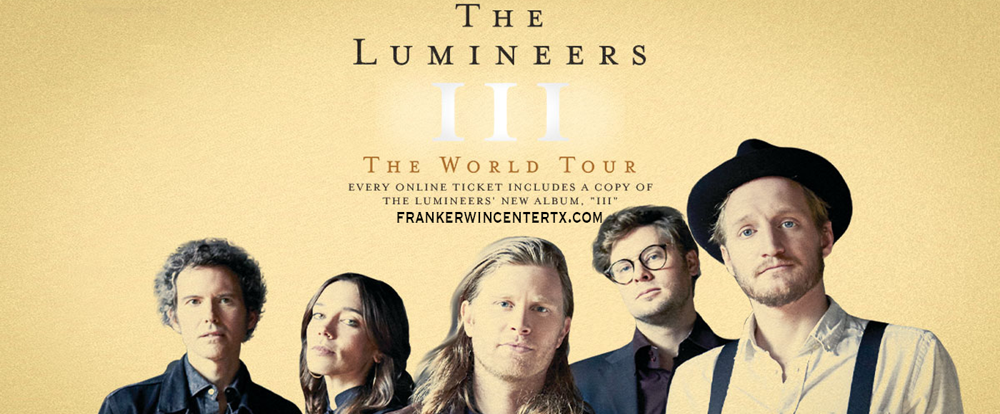 The Lumineers at Frank Erwin Center