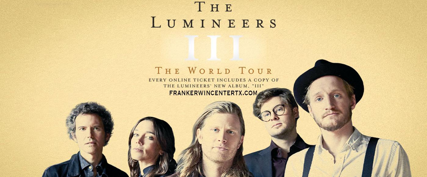 The Lumineers [POSTPONED] at Frank Erwin Center