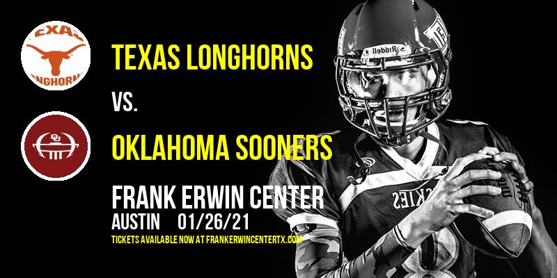 Texas Longhorns vs. Oklahoma Sooners at Frank Erwin Center