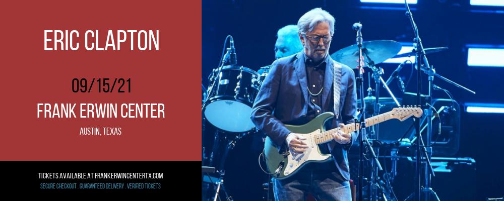 Eric Clapton at Frank Erwin Center