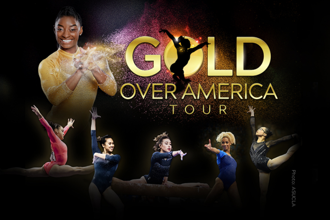 Gold Over America Tour: Simone Biles [CANCELLED] at Frank Erwin Center