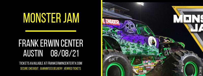 Monster Jam at Frank Erwin Center