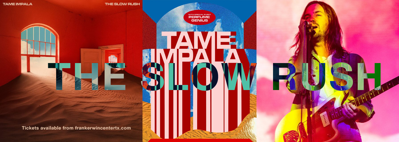 Tame Impala The Slow Rush North American Tour at Frank Erwin Center